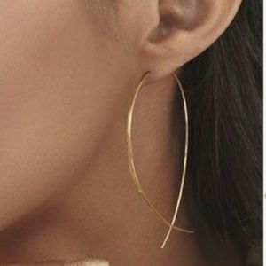 ❤️gorgeous pair gold fish earring